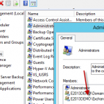 Using a Non-Exchange Server as an Exchange Database Availability Group File Share Witness