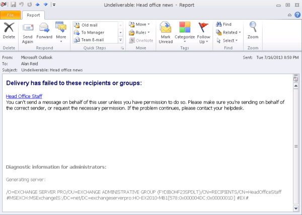 How to send a group email in outlook and hide recipients