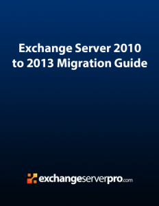Exchange Server 2010 Ebook