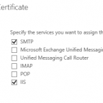 Assign an SSL Certificate to Exchange Server 2016 Services