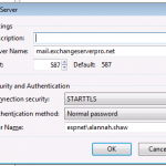Configuring the TLS Certificate Name for Exchange Server Receive Connectors