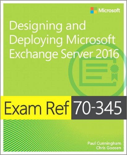 Exam Ref 70-345 Book Cover