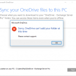 Restricting OneDrive Sync to Domain Joined PCs
