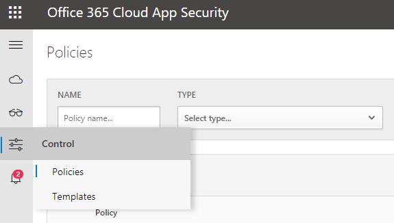 Office 365 Cloud App Security